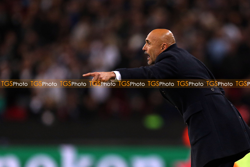 Internazionale head coach Luciano Spalletti during Tottenham Hotspur vs Inter Milan, UEFA Champions League Football at Wembley Stadium on 28th November 2018