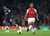 2nd November 2017, Emirates Stadium, London, England; UEFA Europa League group stage, Arsenal versus Red Star Belgrade; Theo Walcott of Arsenal in action