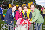 Moyvane friends Yvonne Enright, Eileen Horan, Breda Brosnan, Breda Enright and baby Dawn Horan pictured last Sunday at the annual Knockdown Vintage Rally.