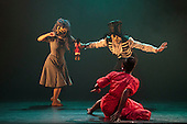 London, UK. 17 March 2016. Storyville by Christopher Hampson. Ballet Black present a Triple Bill at the Barbican Theatre on 18 and 19 March 2016. Premiere of Cristaux choreographed by Arthur Pita, the premiere of To Begin, Begin by Christopher Marney and a reworked version of Storyville by Christopher Hampson. Dancers performing are Cira Robinson, Kanika Carr, Isabela Coracy, Sayaka Ichikawa, Damien Johnson, Jacob Wye, Mthuthuzeli November and Joshua Harriette.