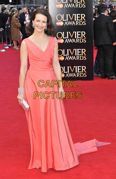 LONDON, ENGLAND - APRIL 13: Kristin Davis attends the Olivier Awards 2014, Royal Opera House, Covent Garden, on Sunday April 13, 2014 in London, England, UK.<br /> CAP/CAN<br /> &copy;Can Nguyen/Capital Pictures
