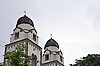 Ev. Heidenturmkirche St. Viktor in Guntersblum, Sarazenenturm
