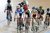Ben Connell of Auckland competes in the U15 Boys Points Race at the Age Group Track National Championships, Avantidrome, Home of Cycling, Cambridge, New Zealand, Thurssday, March 16, 2017. Mandatory Credit: © Dianne Manson/CyclingNZ  **NO ARCHIVING**