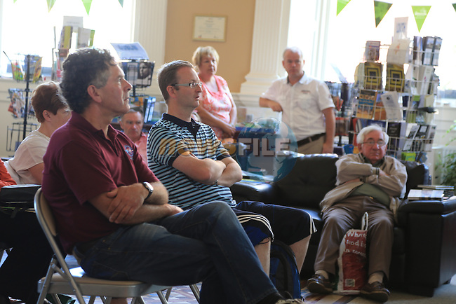 Tholsel Lunchtime Lecture Series as part of 'The Drogheda Fenians Return'<br /> Picture:  Fran Caffrey / www.newsfile.ie