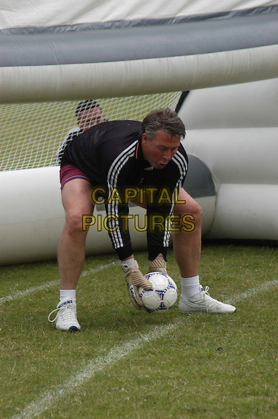 TOMMY WALSH.Plays football at Victoria Park for Great Ormond Street charity day.Ref: 20020706.ground force builder, full length, full-length.*RAW SCAN - photo will be adjusted for publication*.www.capitalpictures.com.sales@capitalpictures.com.© Capital Pictures