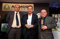 Thursday 16 May 2013<br /> Pictured L-R: Phil Sumbler, Huw Jenkins and Huw Cooze.<br /> Re: Swansea City FC footballer of the year awards dinner at the Liberty Stadium.