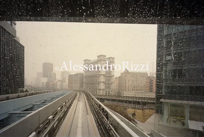 Tokyo during a rainy day