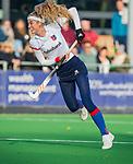 AMSTELVEEN - Yibbi Jansen (SCHC) scoort  tijdens de competitie hoofdklasse hockeywedstrijd dames, Pinoke-SCHC (1-8) . COPYRIGHT KOEN SUYK