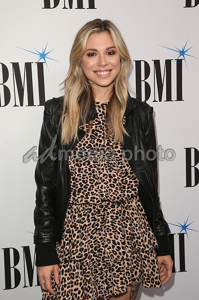 14 May 2019 - Beverly Hills, California - Christina Perri. 67th Annual BMI Pop Awards held at The Beverly Wilshire Four Seasons Hotel. Photo Credit: Faye Sadou/AdMedia