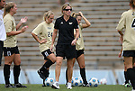 30 August 2009: UCF head coach Amanda Cromwell. The Duke University Blue Devils lost 3-2 to the University of Central Florida Knights at Fetzer Field in Chapel Hill, North Carolina in an NCAA Division I Women's college soccer game.