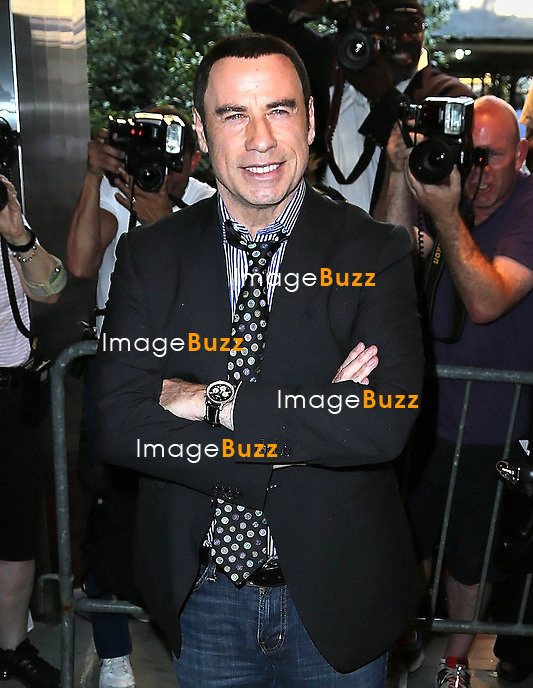 "John Travolta at the premiere of ""Savages"" in New York City..New York, June 27, 2012."
