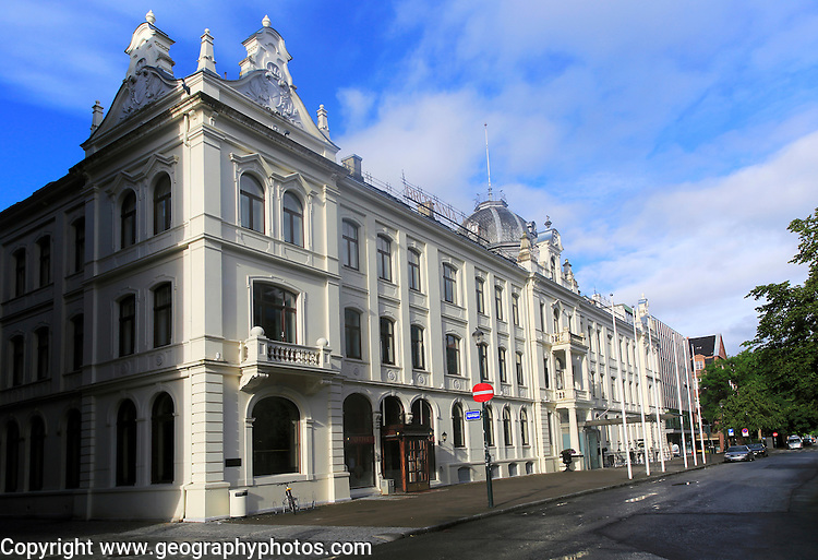 Historic Britannia Hotel building, Trondheim, Norway