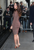 Jennifer Metcalfe arriving for the TRIC Awards 2014, at Grosvenor House Hotel, London. 11/03/2014 Picture by: Alexandra Glen / Featureflash