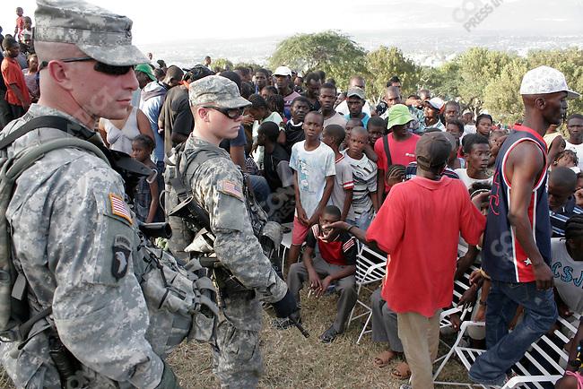 Aftermath of earthquake, Port-au-prince, Haiti, January 16, 2010