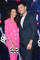 LONDON, UK. March 07, 2019: Michelle Keegan & Mark Wright arriving for the Global Awards 2019 at the Hammersmith Apollo, London.<br /> Picture: Steve Vas/Featureflash