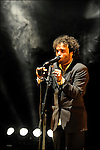 Le chanteur auteur compositeur BABX au Festival des Francofolies de la Rochelle 2009 / 17 Charente Maritime / Rég. Poitou Charentes / The singer BABX at the Francofolies music festival of La Rochelle / France