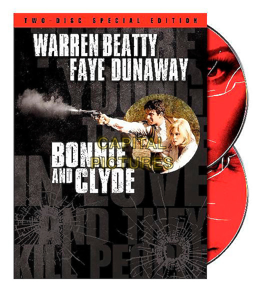 DVD COVER POSTER KEY ART.in Bonnie and Clyde.(Bonnie and Clyde... Were Killers!).*Filmstill - Editorial Use Only*.CAP/PLF.Supplied by Capital Pictures.