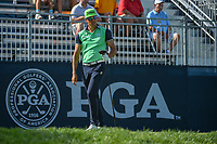 Rafael Cabrera Bello (ESP) watches his tee shot on 10 during 1st round of the 100th PGA Championship at Bellerive Country Cllub, St. Louis, Missouri. 8/9/2018.<br /> Picture: Golffile | Ken Murray<br /> <br /> All photo usage must carry mandatory copyright credit (© Golffile | Ken Murray)