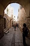 Day 4 -  An alley in Jerusalem (Photo by Brian Garfinkel)