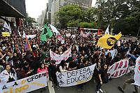 16.08.2018 - Protesto de Estudantes na av Paulista em SP