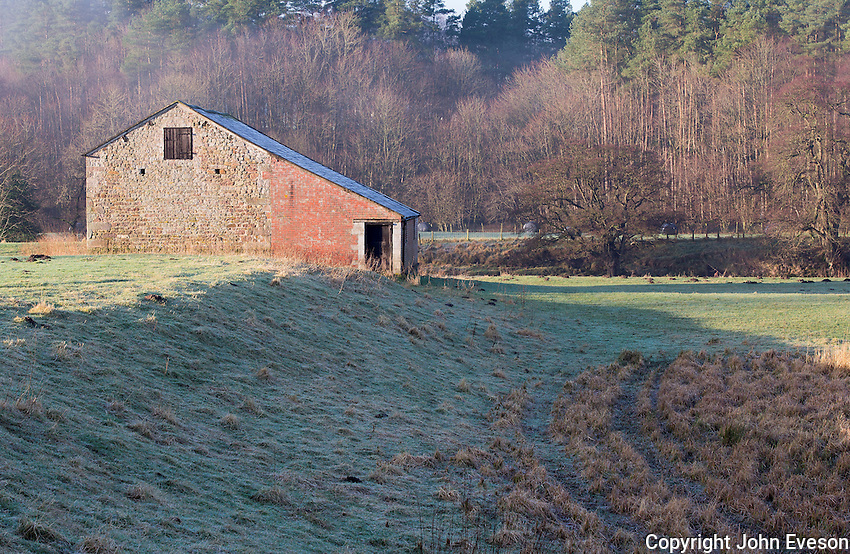Out-barn, Whitewell, Clitheroe, Lancashire.