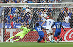 England's Harry Kane scoring his sides opening goal during the Friendly match at Stade De France Stadium, Paris Picture date 13th June 2017. Picture credit should read: David Klein/Sportimage