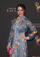 LOS ANGELES, CA - SEPTEMBER 09: Chloe Arbiture at the 2017 Creative Arts Emmy Awards at Microsoft Theater on September 9, 2017 in Los Angeles, California. <br /> CAP/MPI/FS<br /> &copy;FS/MPI/Capital Pictures