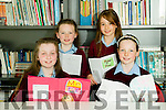 Scriobh Leabhar annual awards for Kerry schools at The Education Centre, Drumtacker on Monday. Pictured l-r  Grace Angland, Collen Angland, Sarah Moran and Heather Cullotty from Knockanes NS Killarney.