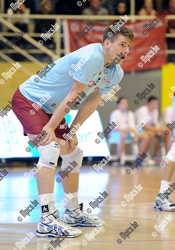 2013-10-31 / Volleybal / seizoen 2013-2014 / Topvolley Antwerpen / Tom Van Walle<br /><br />Foto: Mpics.be