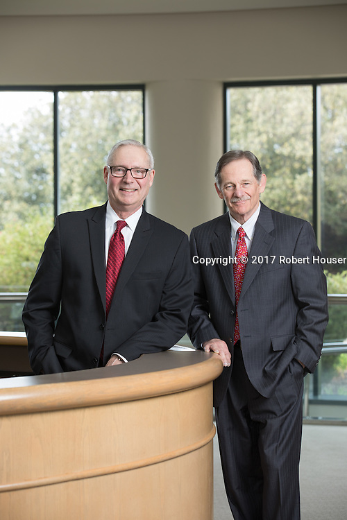 Portrait of John Goetz - COO and Norman Schwartz - CEO - BioRad