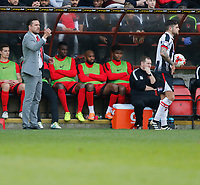 Leyton Orient manager, Danny Webb gives instructions during the Sky Bet League 2 match between Leyton Orient and Grimsby Town at the Matchroom Stadium, London, England on 11 March 2017. Photo by Carlton Myrie / PRiME Media Images.