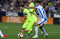 Leo Messi of FC Barcelona during the match between CD Leganes v FC Barcelona of LaLiga, date 6, 2018-2019 season. Municipal de Butarque Stadium. Madrid, Spain - 26 SEP 2018.