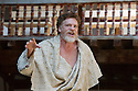 London, UK. 30.04.2014. Shakespeare's Globe presents TITUS ANDRONICUS, directed by Lucy Bailey. Picture shows: William Houston (Titus Andronicus). Photograph © Jane Hobson.