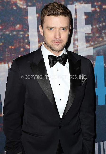 WWW.ACEPIXS.COM<br /> <br /> February 15 2015, New York City<br /> <br /> Justin Timberlake arriving at the SNL 40th Anniversary Special at the Rockefeller Plaza on February 15, 2015 in New York<br /> <br /> By Line: Nancy Rivera/ACE Pictures<br /> <br /> <br /> ACE Pictures, Inc.<br /> tel: 646 769 0430<br /> Email: info@acepixs.com<br /> www.acepixs.com