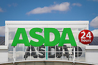 ASDA 24 hour shop sign