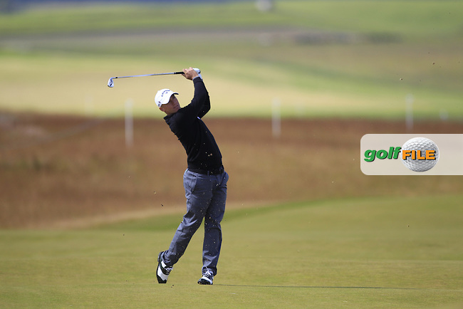Alex Noren (SWE) during the first round of the Aberdeen Asset Management Scottish Open 2016, Castle Stuart  Golf links, Inverness, Scotland. 07/07/2016.<br /> Picture Fran Caffrey / Golffile.ie<br /> <br /> All photo usage must carry mandatory copyright credit (&copy; Golffile | Fran Caffrey)