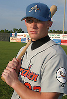 August 16, 2003:  Mike Russell of the Aberdeen Ironbirds, Class-A affiliate of the Baltimore Orioles, during a game at Falcon Park in Auburn, NY.  Photo by:  Mike Janes/Four Seam Images