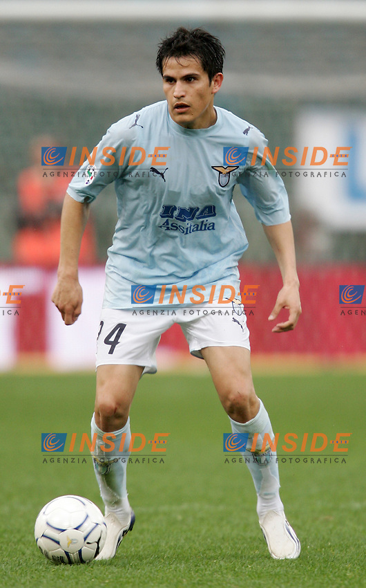 Cristian Daniel Ledesma (Lazio)<br /> 28 Feb 2007 (Match Day 26)<br /> Lazio-Catania (3-1)<br /> &quot;Olimpico&quot;-Stadium-Roma-Italy<br /> Photographer: Andrea Staccioli INSIDE
