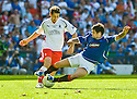 Stock pic of Jackie McNamara being tackled by Nacho Novo whilst playing for Falkirk against Rangers in the 2009 Scottish Cup Final at Hampden.    McNamara will make his debut as the new Dundee United manager against Rangers in the Scottish Cup 4th Round at Tannadice on Saturday 2nd Feb 2013.