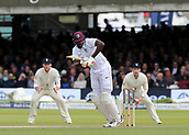9th September 2017, Lords Cricket Ground, London, England; International test match series, third test, Day 3; England versus West Indies; West Indies Jason Holder in batting action