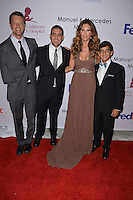 MIAMI, FL - MAY 19: Daisy Fuentes (2nd from R) and Guest attends the St. Jude Angels & Stars Gala at JW Marriott on May 19, 2012 in Miami, Florida.  (photo by: MPI10/MediaPunch Inc.)