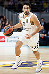 Facundo Campazzo of Real Madrid during Turkish Airlines Euroleague match between Real Madrid and FC Barcelona Lassa at Wizink Center in Madrid, Spain. December 13, 2018. (ALTERPHOTOS/Borja B.Hojas)