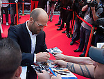 Jason Statham at the ' Expendable 3' for the  Movie Premiere at the 'UGC Normandie, in Paris.<br /> <br /> Paris, France 07 ao&ucirc;t 2014.