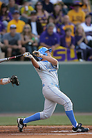 June 5, 2010: Justin Uribe of UCLA during NCAA Regional game against LSU at Jackie Robinson Stadium in Los Angeles,CA.  Photo by Larry Goren/Four Seam Images
