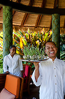 Smiling members of staff at the Maia Luxury Resort & Spa