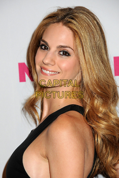 KELLY KRUGER.Nylon Magazine's Young Hollywood Party held at the Roosevelt Hotel's Tropicana Bar, Hollywood, California, USA..May 12th, 2010.headshot portrait black eyeliner make-up smiling .CAP/ADM/BP.©Byron Purvis/AdMedia/Capital Pictures.