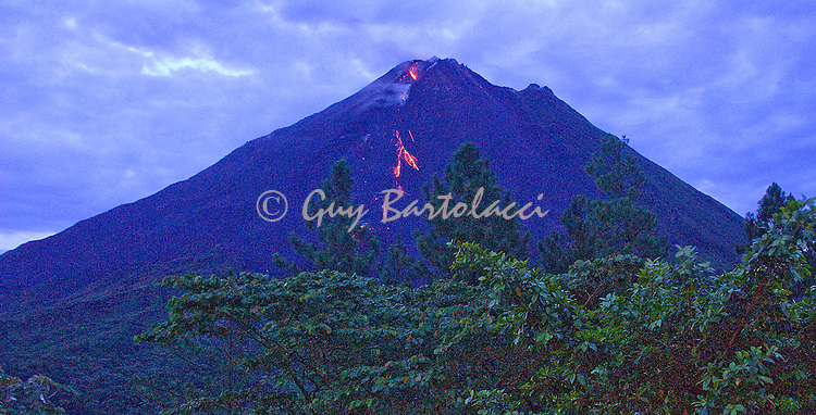 Arenal at Dusk
