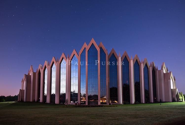 Charlotte NC - Calvary Church  Pre Dawn Long Exposure (Notice the stars in the Sky)