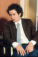 JOHN McENROE (USA)<br />SIGNS SPONSORSHIP DEAL WITH DUNLOP<br />WIMBLEDON 1981<br />PHOTO ROGER PARKER FOTOSPORTS INTERNATIONAL