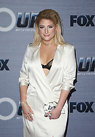 WEST HOLLYWOOD, CA - FEBRUARY 8: Meghan Trainor at the season finale viewing party for The Four: Battle For Stardom at Delilah in West Hollywood, California on February 8, 2018. Credit: Faye Sadou/MediaPunch